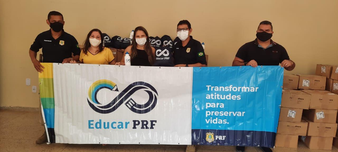 Secretaria de Educação adere ao Projeto 'Educar PRF'