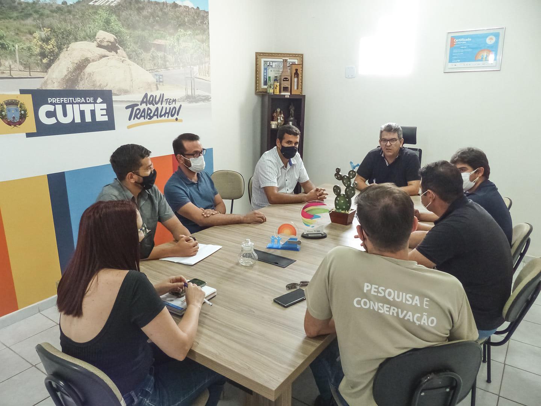 Aterro Sanitário e Matadouro Público foram pautas de reunião com equipe da SUDEMA