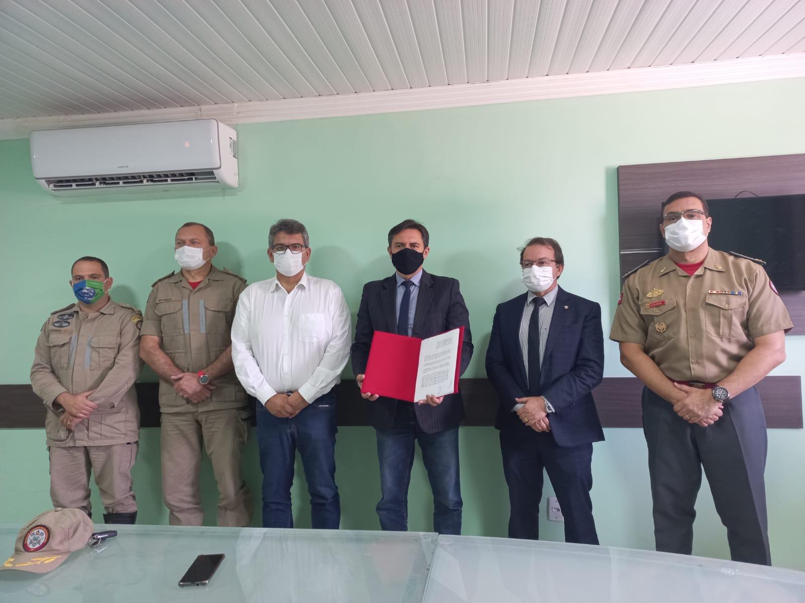 Unidade do Corpo de Bombeiros Militar é confirmada para Cuité